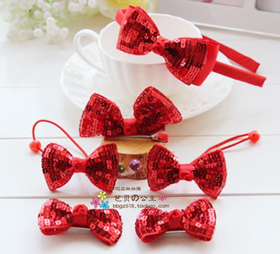 Vảy kim tuyến Sequin belt with decorative hair accessories diy materials wholesale handmade headdres