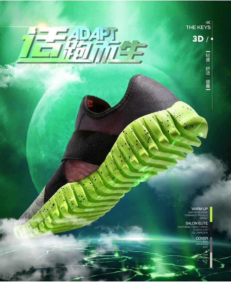Giày FuJian  The new couple running shoes men and women casual sports shoes breathable lightweight s