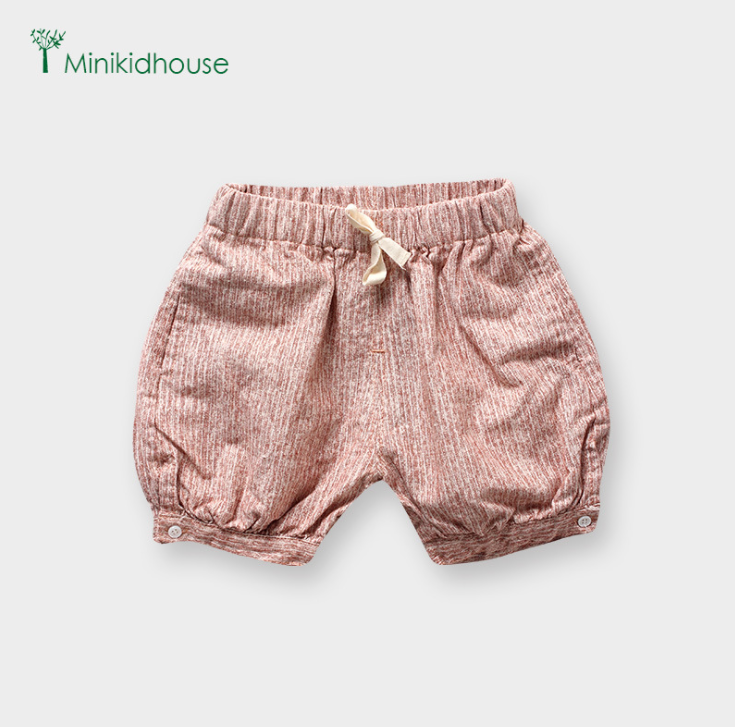 Quần The new files can be opened Minikidhouse girls shorts casual trousers children summer baby girl