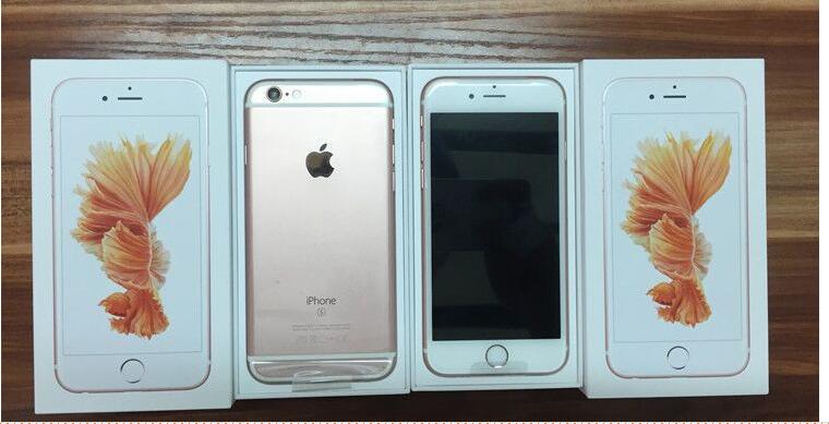 Apple genuine original Apple iphone 6s 6s Hong Kong version of the National Bank rose gold 4.7 5.5 p