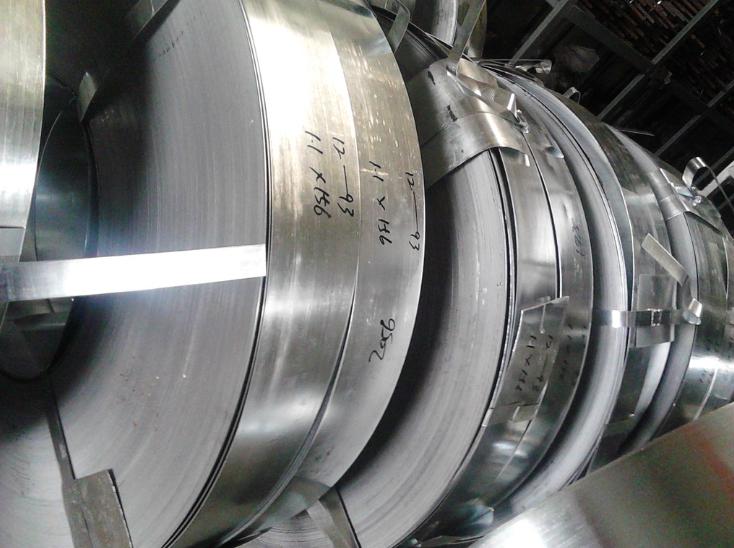 Tôn cuộn Foshan 156 * 1.6 galvanized steel galvanized tape