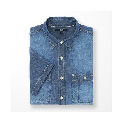 Áo sơ mi   Men's casual shirt (short sleeves) 169 630 UNIQLO UNIQLO