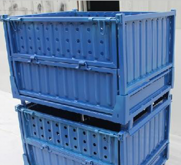 Heavy sell wholesale custom totes heavy metal waste containers mobile storage cage turnover me
