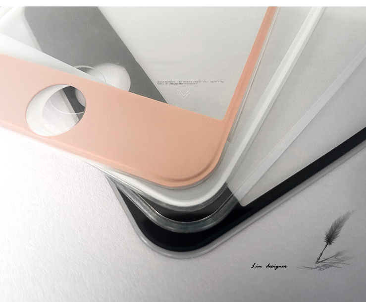iPhone 6 plus an Apple mobile phone film film glass film 6 steel silicone edging
