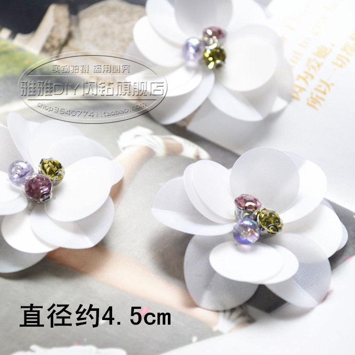 Vảy kim tuyến    Hand-sequined flower patch clothes and shoes DIY cloth paste decorative flower acce