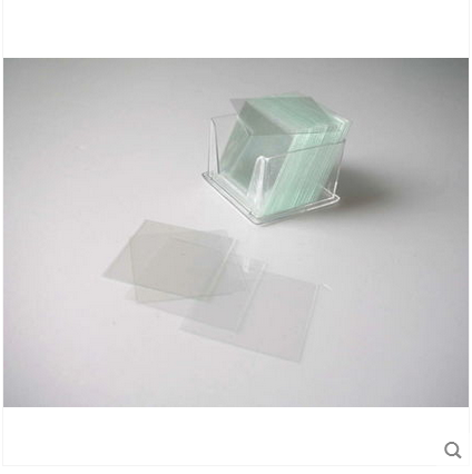 Dụng cụ thí nghiệm  Cover glass A carton of 50 piece of biological experiment instrument consumable