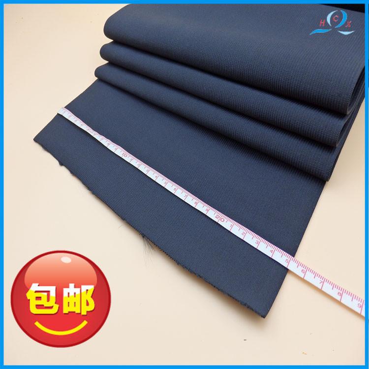 Dây thun    Spot wholesale ribbon, crochet cord, black and white elastic band factory direct shippi