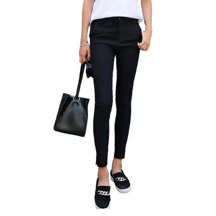 Korean homes have clothes flagship store 2016 summer new female Korean fashion casual pants feet hig