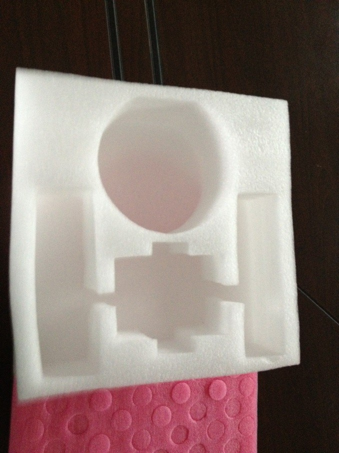 Mút xốp   Direct epe EPE positioning packaging EPE positioning packaging lined with fountains sound