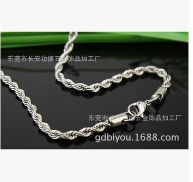Nguyên liệu sản xuất thép Vòng cổ titan thép không gỉ