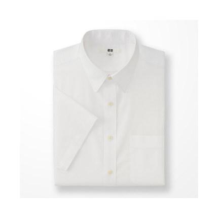 Áo sơ mi    Men DRY EASY CARE jacquard shirt (short sleeve) (drying) 169 228 UNIQLO
