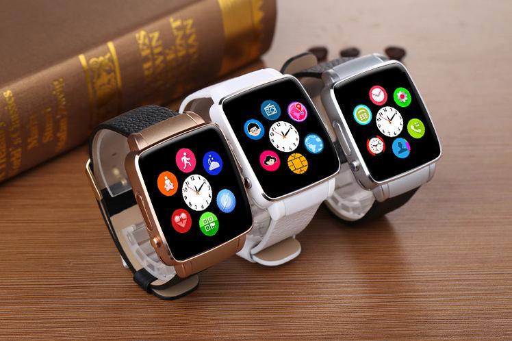 X6 smart watch support micro-channel QQ Card camera Bluetooth smart watch factory shipments spot
