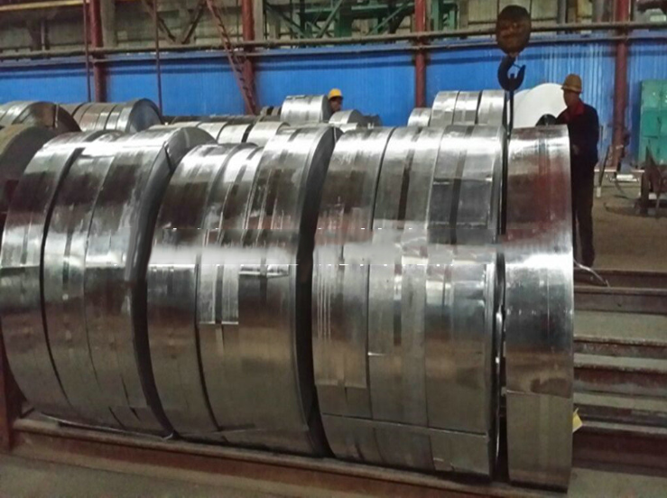 Tôn cuộn  Factory direct hot-rolled strip galvanized steel strip wholesale black Strip withdrawal