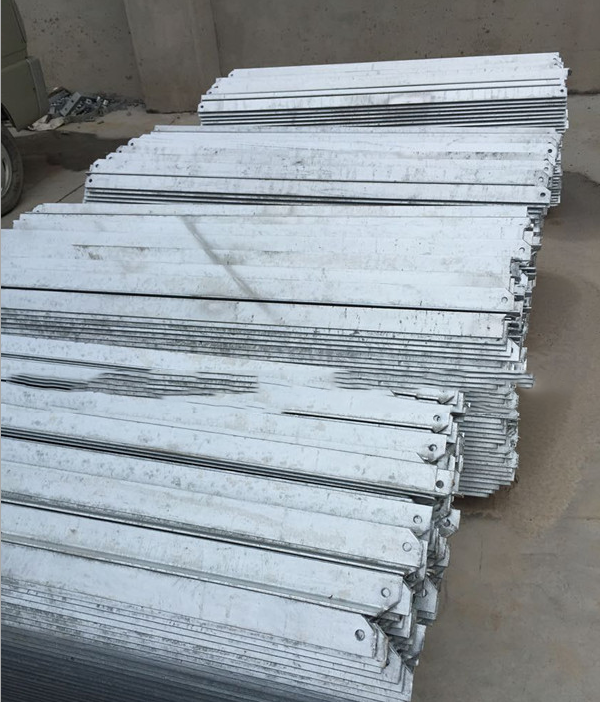 Ping Ding electrical fittings professional production of galvanized channel # 10 * 3000 custom cross