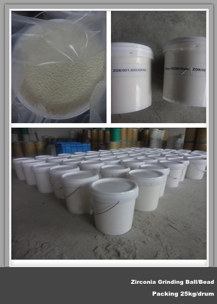 Specializing in the production of high-quality abrasive grinding beads of zirconium oxide, yttrium s