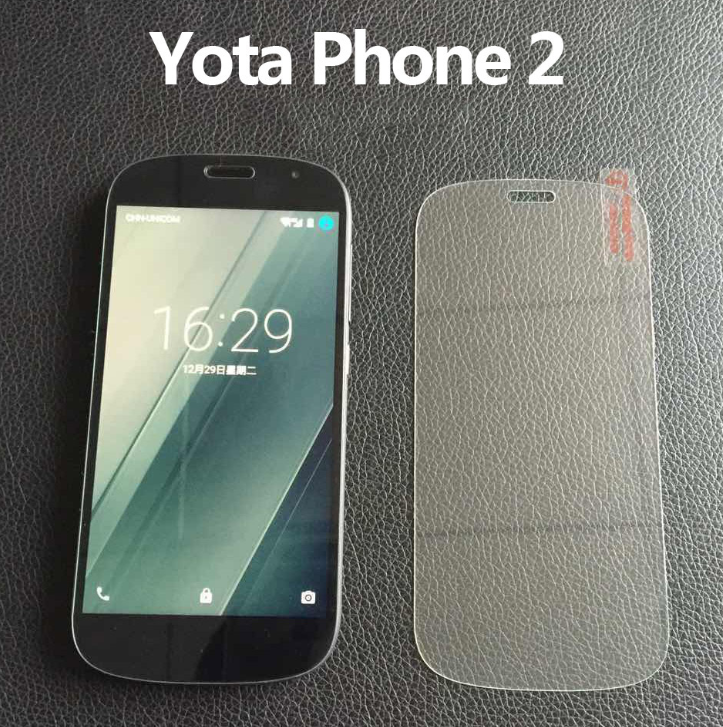 Miếng dán cường lực  YotaPhone 2 tempered steel membrane film YotaPhone 2 real machine open mold hol