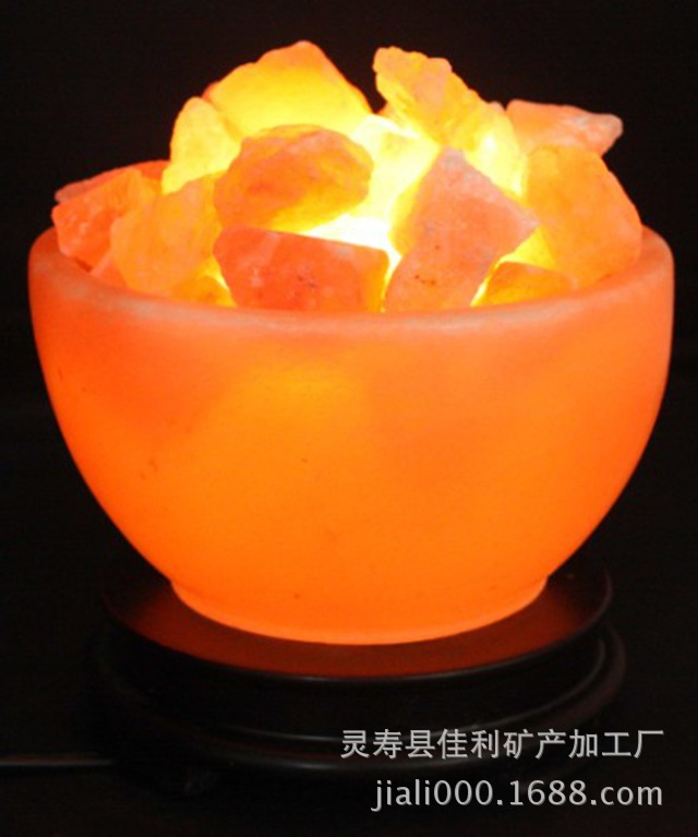 Factory direct supply salt lamp salt block metallic mineral products Metals and minerals