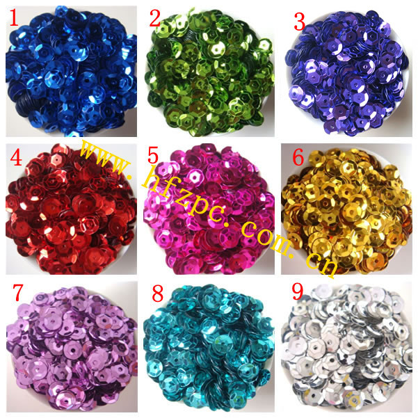 Vảy kim tuyến    Sequin 14mm sequin embroidery wholesale clothing accessories hand-colored beads loo