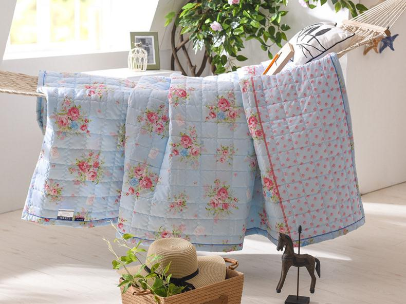 Mền sợi tổng hợp  Buy gifts sanding printing was cool in the summer air conditioning is low-bedding