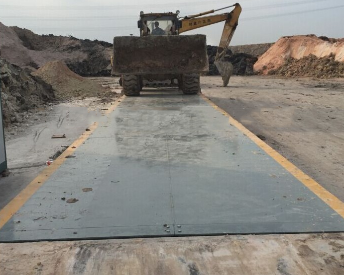 Cân sàn  Tongliao City, 60 tons weighbridge manufacturers 80 tons of 3x14 meters automotive loadome