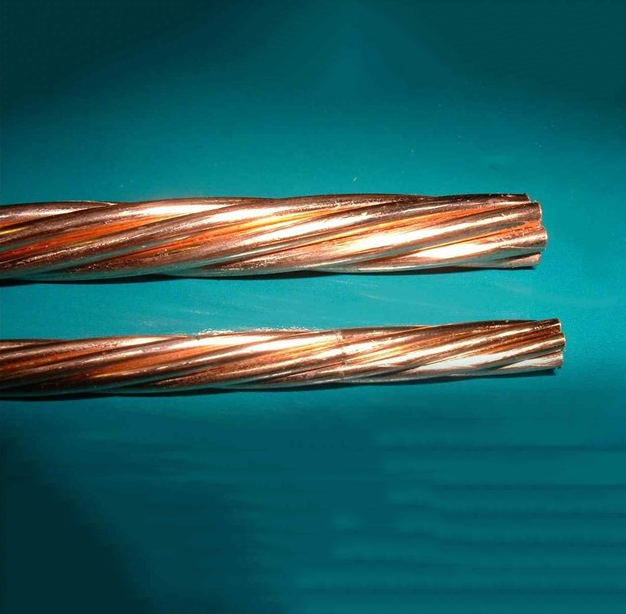 Dây cáp   Copper strand copper clad steel Copper clad steel grounding factory level big sale