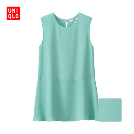Women georgette sleeveless shirt 171067 UNIQLO UNIQLO
