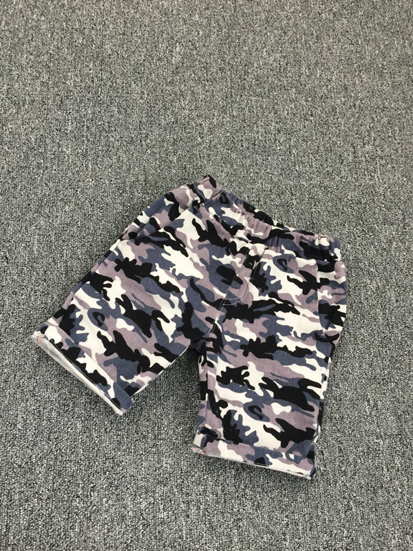 Boy camouflage pants casual pants children's summer children's pants children pants tide 2016 summ