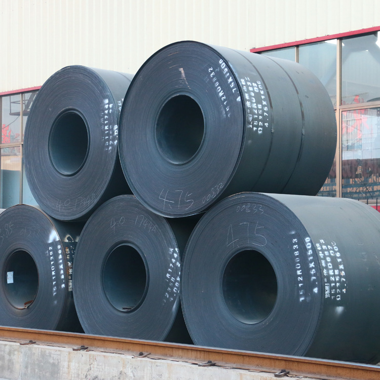 Cán nóng   [Quality assurance] wear rolled coil supply material Q235 hot rolled coil Hot Coil Shando