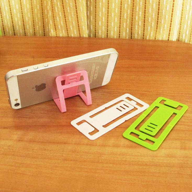 phụ kiện chống lưng điện thoại  T Strange new creative gifts folding card-holder universal phone ho