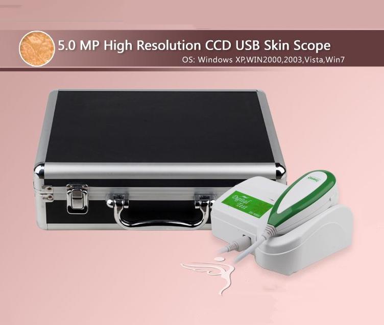 The new high-definition 5-megapixel intelligent skin tester skin test instrument analytical instrume