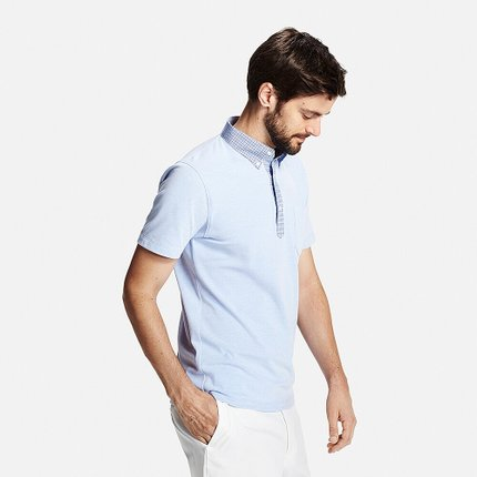 Áo sơ mi   [Special Size] Men's quick-drying shirt collar POLO shirt (short sleeves) 171 256 UNIQLO