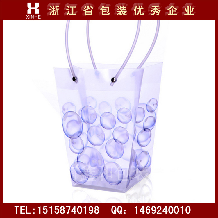 Túi xốp hộp  WINE PP plastic translucent double vessel wine grape sparkling wine bag gift bags bags