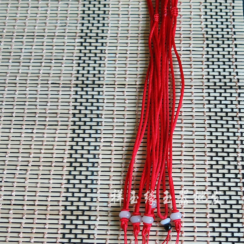 dây đeo   Lanyard jade jade high-grade imported hand-woven wire