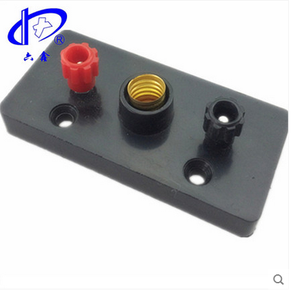 Dụng cụ thí nghiệm  Six xin science small lamp holder screw series electrical physics experiment eq