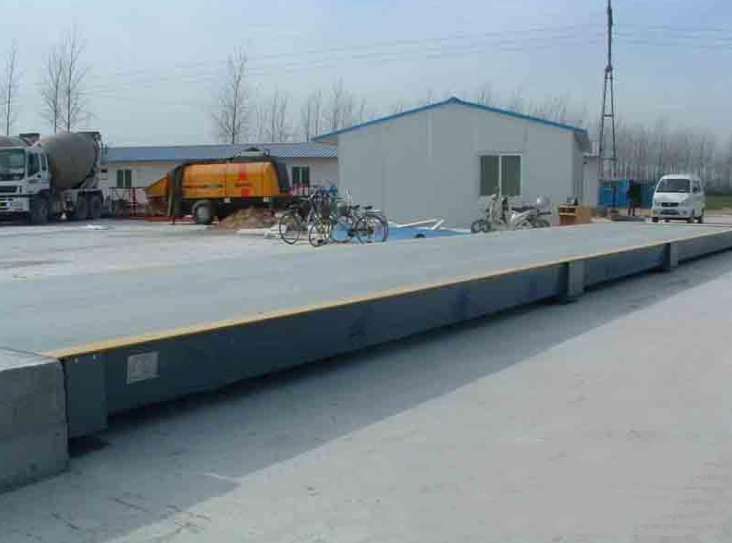80 tons of electronic weighing Tianjin factory 3x14 meters U type steel structure 100T truck scale p