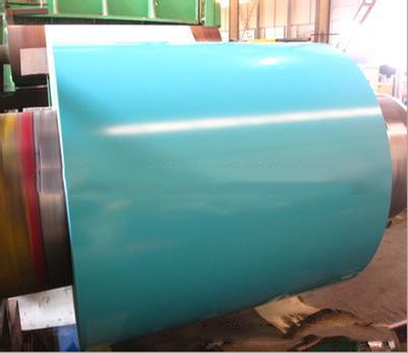Mạ màu    Factory direct plating plating color plate galvanized color coated steel coil color steel