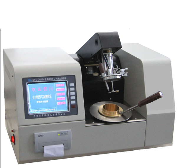 Dụng cụ phân tích  Oil analysis instruments SYD-261D Automatic Closed Flash Point Tester