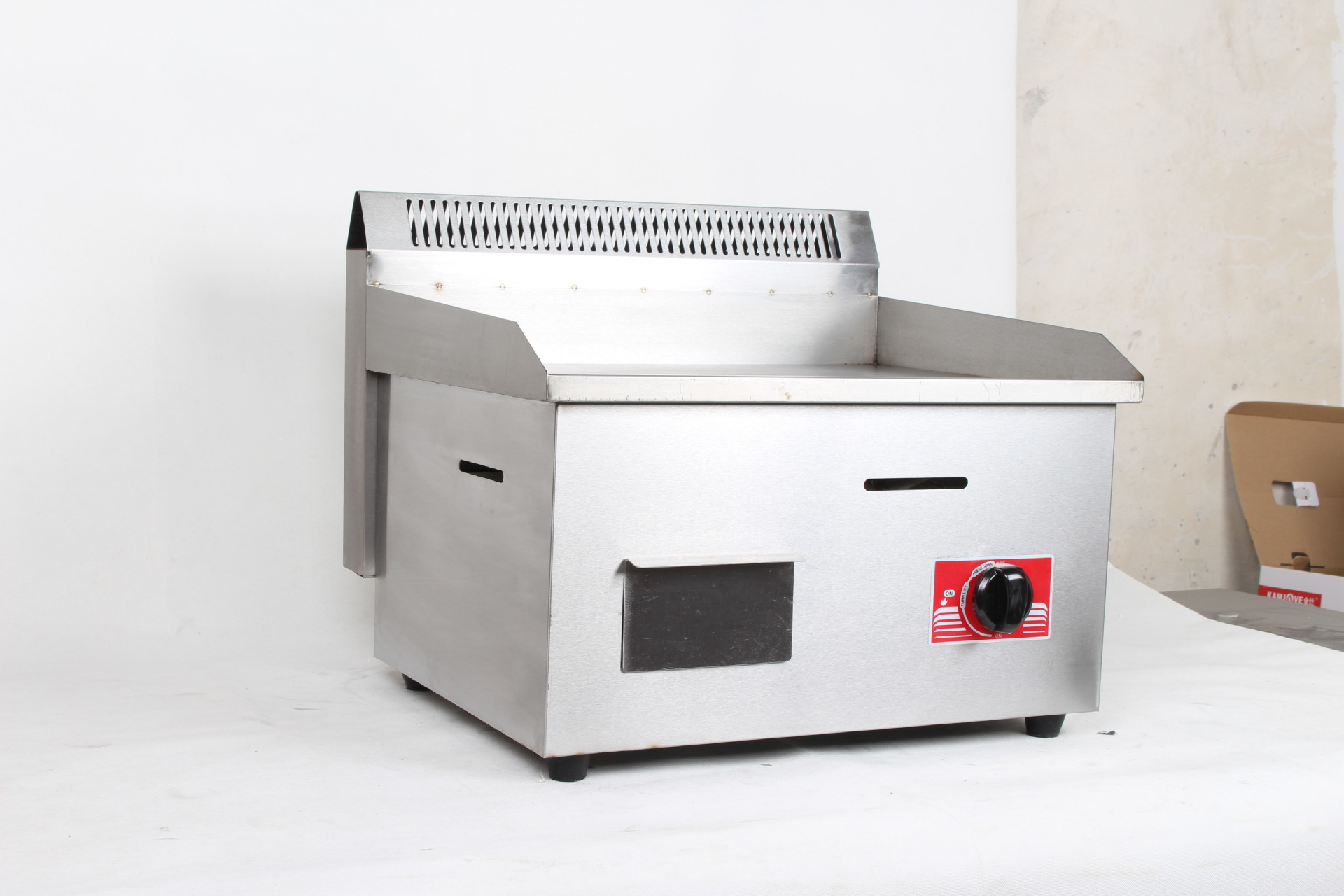 Gas Commercial Gas Griddle Teppanyaki clutch cake machine Gas Commercial Gas Griddle