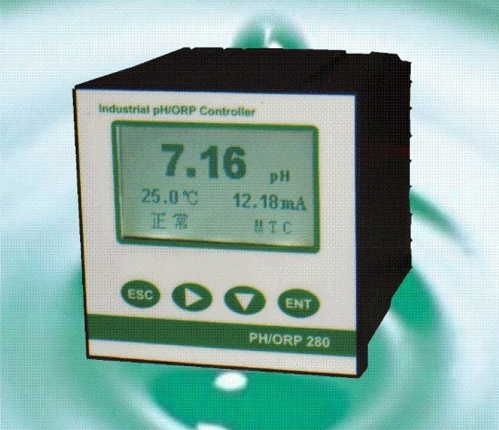 Dụng cụ phân tích  PH / Orp analysis test controller line pH meter industrial measuring water quali