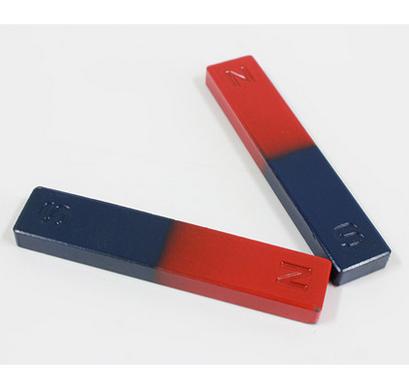 Dụng cụ thí nghiệm  Six xin science and education bar magnet 36 mm magnet for students with a pair