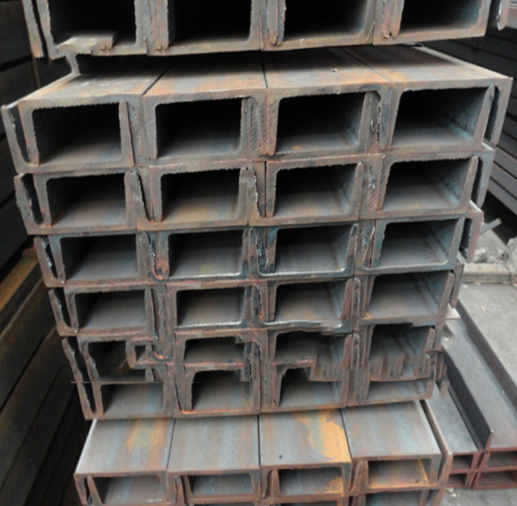 The supply channel Q235B/ Shanghai 32a# steel / hot galvanized steel / steel / zinc processing curta