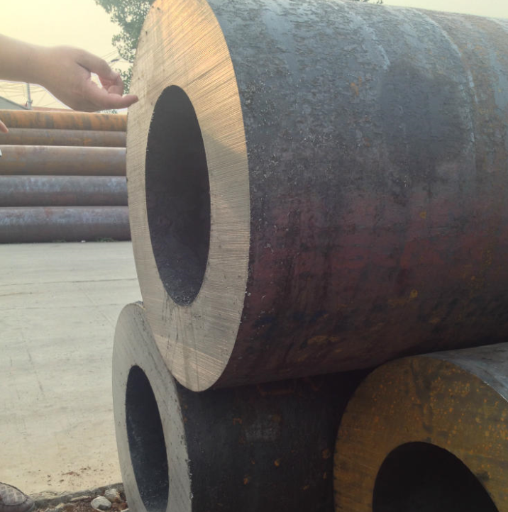 Ống thép   Large diameter thick wall pipe structure Xinyegang genuine seamless steel pipe thick-wal