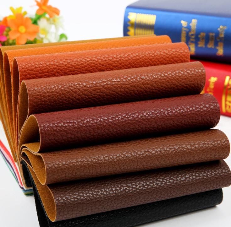 da   Semi Pu litchi grain sofa leather artificial leather, soft leather, leather, fabric, thick, ha