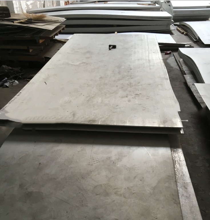 304 stainless steel hot-rolled steel Kaiping processed film 304 stainless steel checkered plate stai