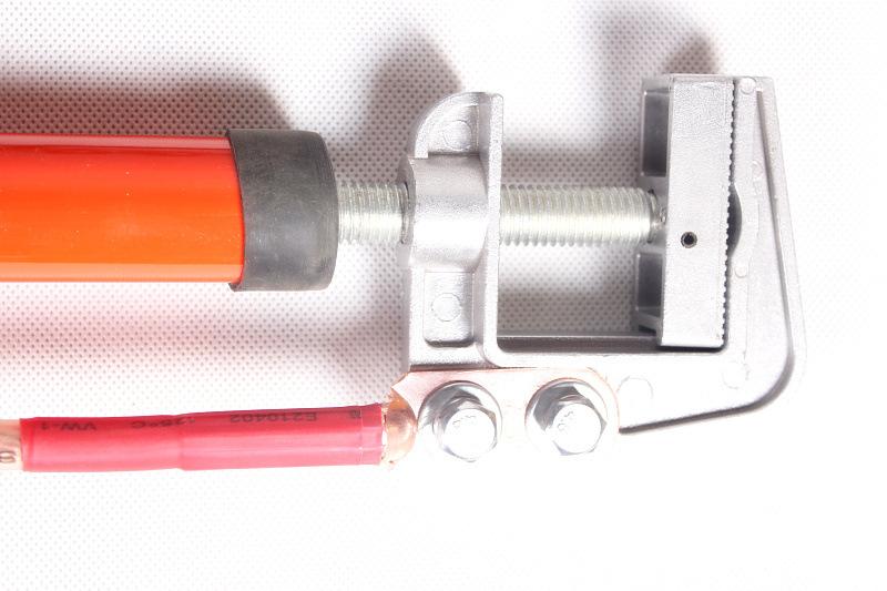 Bộ thiết bị điện cao áp [] 35kv high voltage ground wire spiral flat ground using the high-pressure