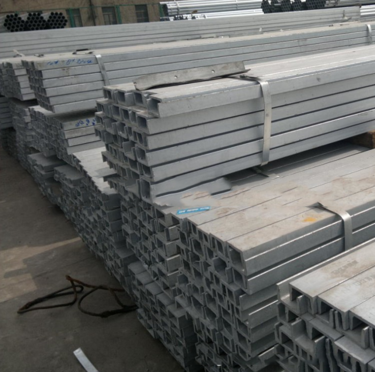 Thép chữ U  Medium supply channel | Q235B | GB non-standard channel | 14 Hao channel | galvanized ch
