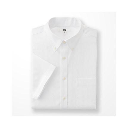 Men DRY EASY CARE jacquard shirt (short sleeve) (drying) 169 227 Uniqlo