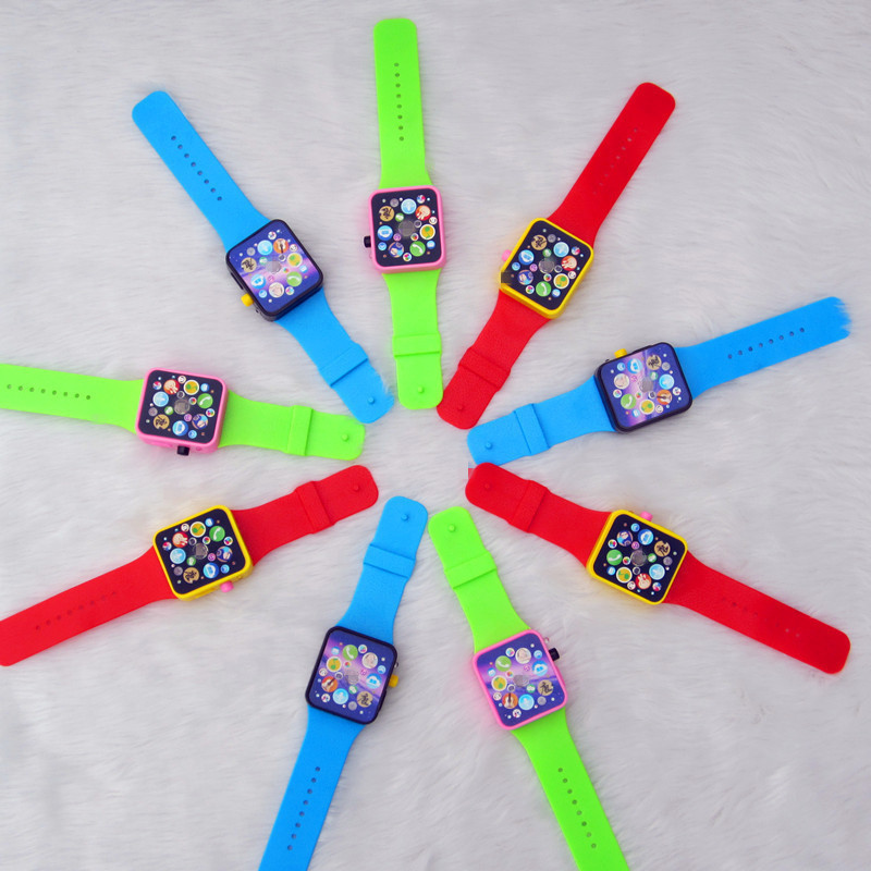 Watch story machine educational toys for children Apple Watch 3 colors mixed TM818211