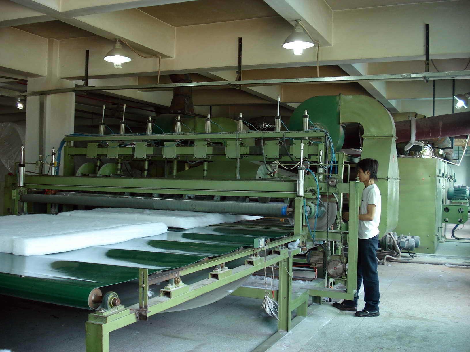 Vật liệu lót may mặc   Custom manufacturers of non-woven cotton non-woven cotton blankets textile fi