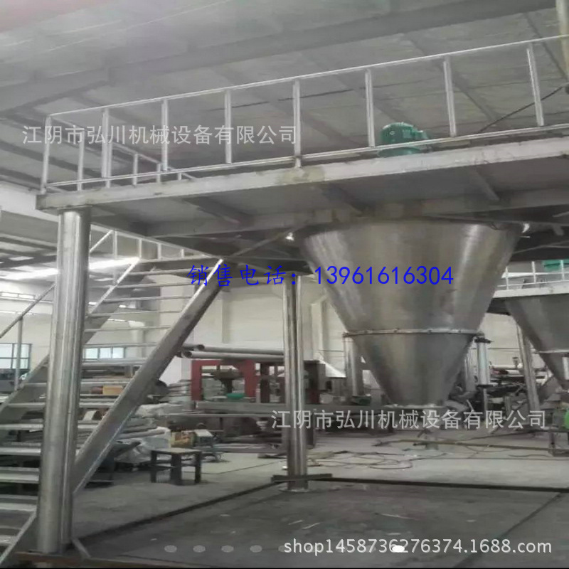 Double helix cone mixer mixing equipment chemical raw tapered vertical stainless steel mixer